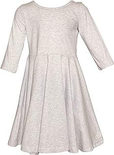 Tiny Twirls Kids Boutique 3/4 Sleeve Twirl Dress