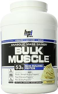 BPI Sports Bulk Muscle, Whipped Vanilla, 5.82 Pound