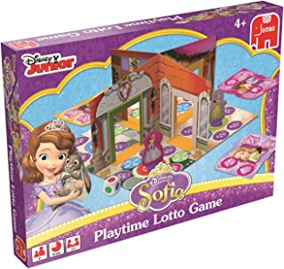 Jumbo Games Disney Sofia The First 3D Playtime Lotto Game