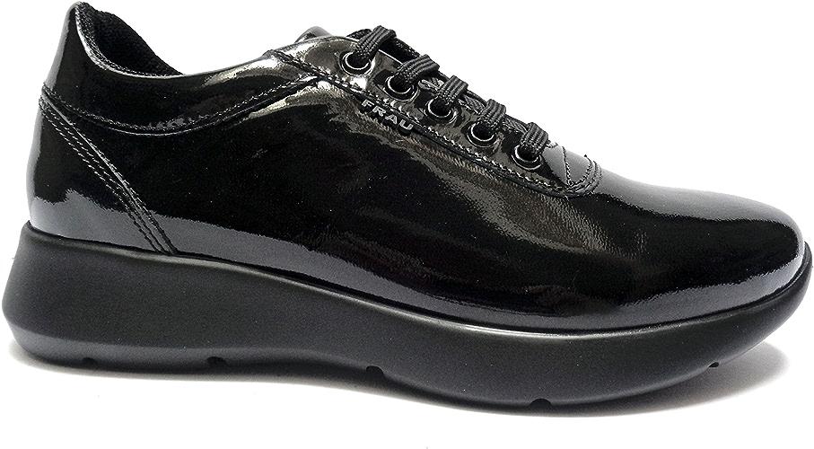 Frau , Chaussures de Sport d'extérieur pour Femme Noir Noir 35 EU