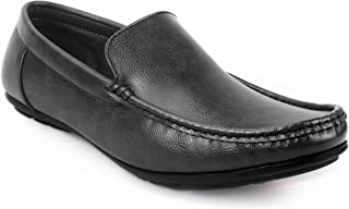 Levanse Formal Slip On Leather Shoes for Party, College, Office for Men/Boys