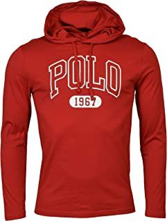 Polo Ralph Lauren Mens Graphic 'Polo' Hooded T-Shirt