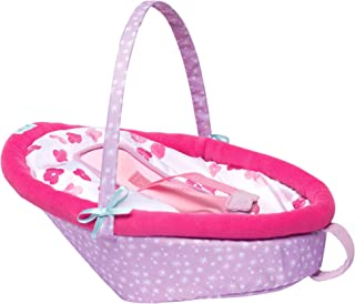 """Manhattan Toy Baby Stella Cute Comfort Car Seat Baby Doll Accessory for 12"""" and 15"""" Soft Dolls"""