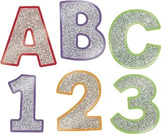 Carson Dellosa Sparkle and Shine Colorful Glitter Combo Pack EZ Letters (130084)