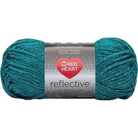 Coats Yarn Red Heart Reflective Yarn-Peacock, Other, Multicoloured