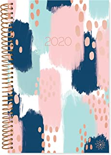 bloom daily planners 2020 Calendar Year Day Planner Book - Soft Cover Weekly/Monthly Dated Agenda Organizer (January 2020 - December 2020) - 6