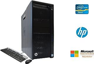 HP Z840 Professional Workstation Intel Xeon 12 Core 64GB DDR4 RAM 500GB SSD + 4TB HD NVIDIA Quadro K5000 4GB Graphics CD/DVDRW Windows 10 Pro 64-bit