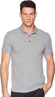 BOSS Orange Men's Short Sleeve Polo with Logo Patch