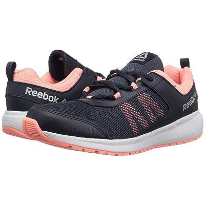 Reebok Kids Road Supreme (Little Kid/Big Kid) (Navy/Pink) Girls Shoes