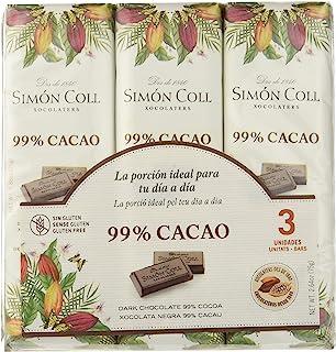 comprar comparacion Chocolates Simón Coll Chocolate 99% Cacao - 16 Unidades