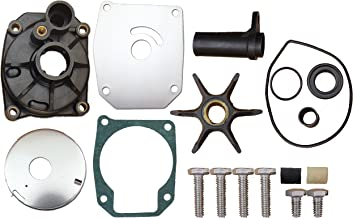Evinrude Johnson 60 70 75 HP 3 Cylinder Water Pump Impeller Repair Kit Replaces 432955