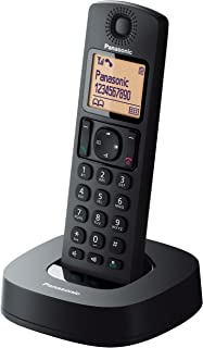 Panasonic KX-TGC310CXB Digital Cordless Phone, Black