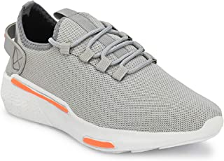 HEEDERIN Men's Air Breathable Ultra Light Weight Mesh Lace up Sport's Running Walking Gym Jogging Comfortable Shoe