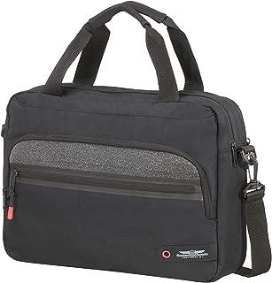 City Aim Briefcase 40cm, Black (Black) - 125112/1041
