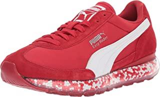 PUMA Unisex Jamming Easy Rider Kids Sneaker, Ribbon red White
