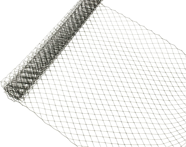 Russian Birdcage Dedication Ranking TOP16 Veil Millinery Netting Sold Wide - Black 10