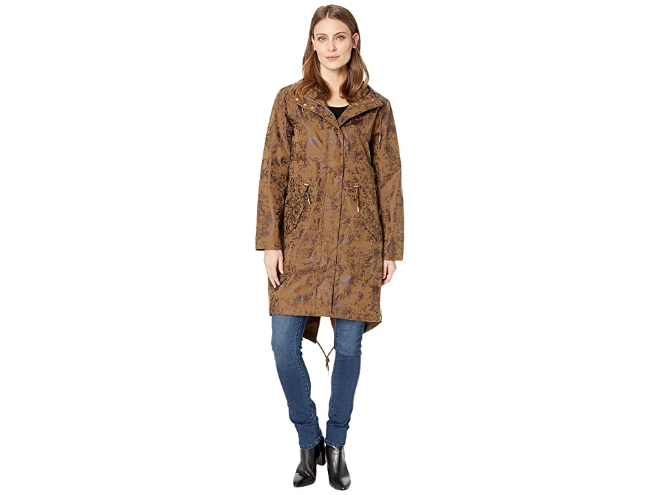 Ilse Jacobsen Raincoat (Desert Palm) Women