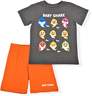 Nickelodeon Baby Shark Boys Shorts Set and Summer Clothes