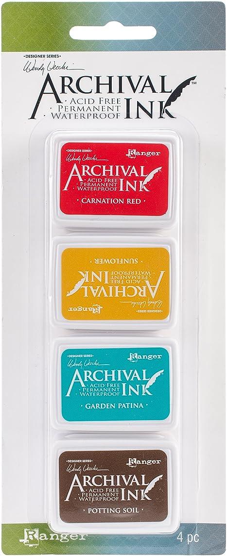 Ranger AMDK57796 Wendy Vecchi Mini Archival Ink Pads-Kit #1