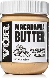Vör Pure Macadamia Nut Butter Spread (11oz) | Only One Ingredient | No Sugar, No Salt | Vegan, Paleo, Keto, Whole 30 (11oz...