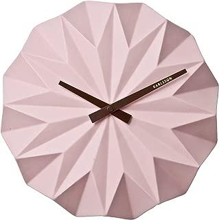 Karlsson KA5531PI Clock Chrome, Light Pink