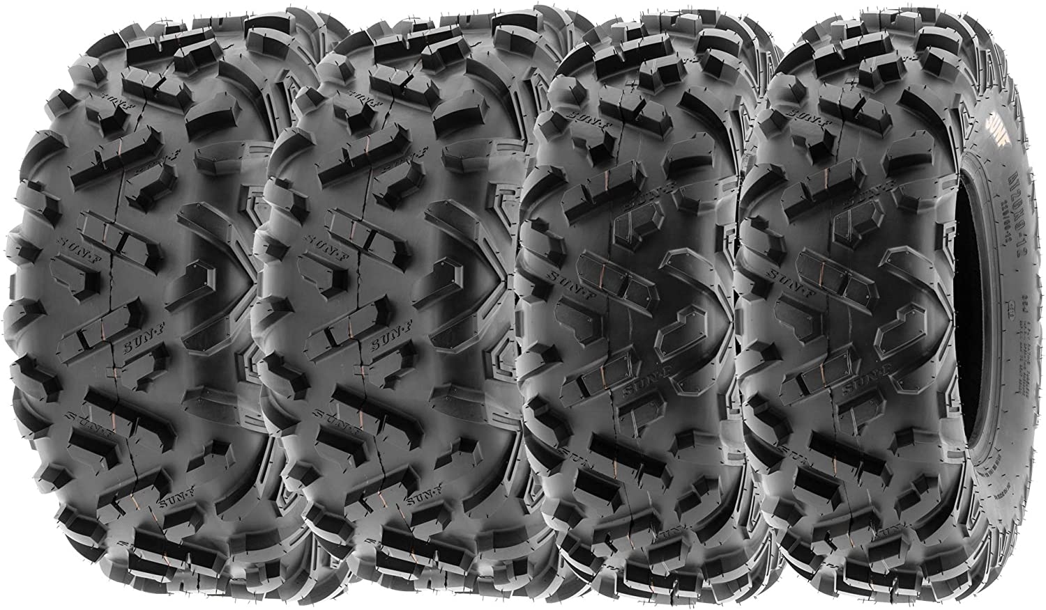 SunF 22x7-10 22x10-9 ATV UTV Tires Tubeless Mail order cheap II PR 6 A051 Spring new work one after another POWER