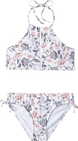 Colleen Hi-Neck Swim Set (Big Kids)