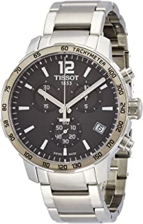 Tissot Mens Quartz Watch, Analog Display and Stainless Steel Strap T095.417.11.067.00