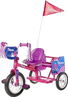 Eurotrike XG27 Tandem Trike -Princess, Purple, 63.5 x 93 x 48 centimeters