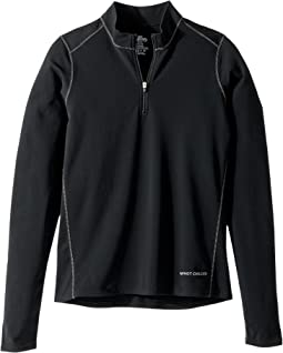 Hot Chillys Kids - Micro Elite XT Zip-T (Little Kids/Big Kids)