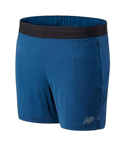New Balance Q Speed Fuel Shorts (Rogue Wave) Men