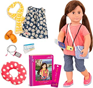 Our Generation Deluxe Reese Travel Doll & Book