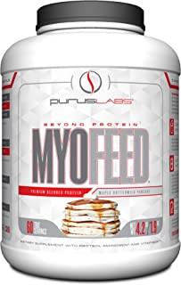 PURUS LABS Myofeed Maple Buttermilk Pancake, 4.2 Pound