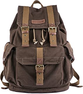 21101 Specially High Density Thick Canvas Backpack Rucksack