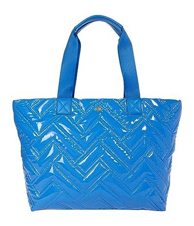 LAUREN Ralph Lauren Nylon Soft Quilted Canton 35 Tote Large (Captain Blue) Handbags