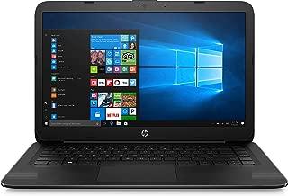 HP 14-ax040wm Laptop, Intel Celeron N3060, 1.6 GHz, 32 GB, Windows 10 Home 64 Bit, Black, 14