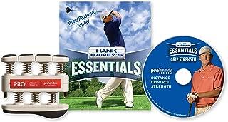 Prohands Hank Haney's Essentials Grip Strength DVD and Hand Exerciser