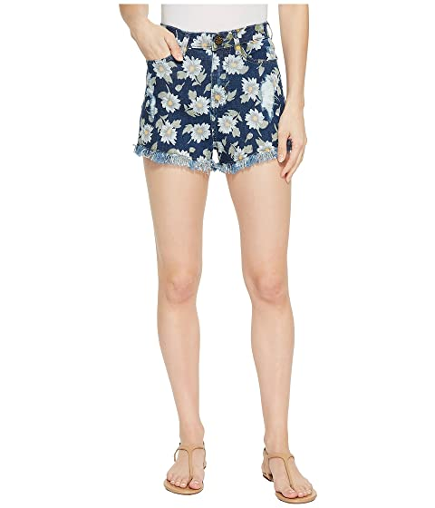 Toledo Tea Drop Shorts In Daisy Duke Denim, Daisy Duke Denim