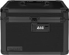 Vaultz Combination Lock Box, 7.75 x 7.25 x 10 Inches, Tactical Black (VZ03588)