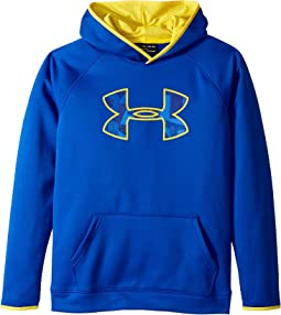 Armour Fleece Big Logo Hoodie (Big Kids)