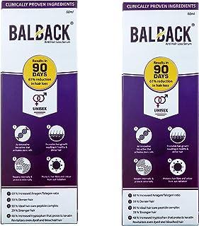 Balback Hair Growth and Revitalizing Serum (60ml) - Pack of 2