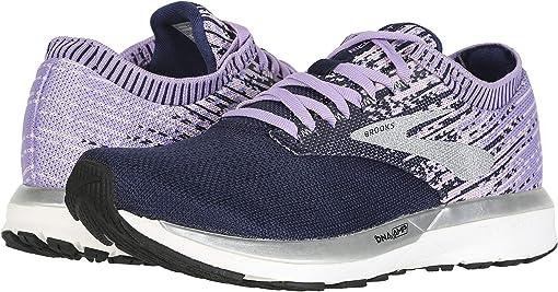 Purple/Lilac/Navy