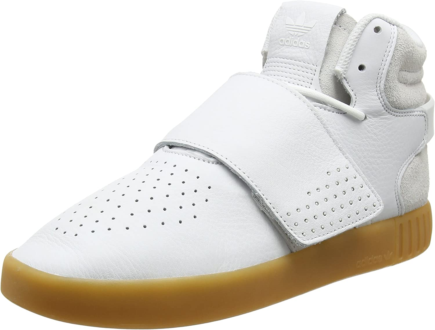Adidas Unisex Adults' Tubular Invader Strap Hi-Top Trainers