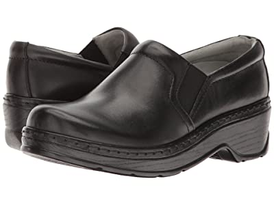 Klogs Footwear Naples (Black Leather) Women