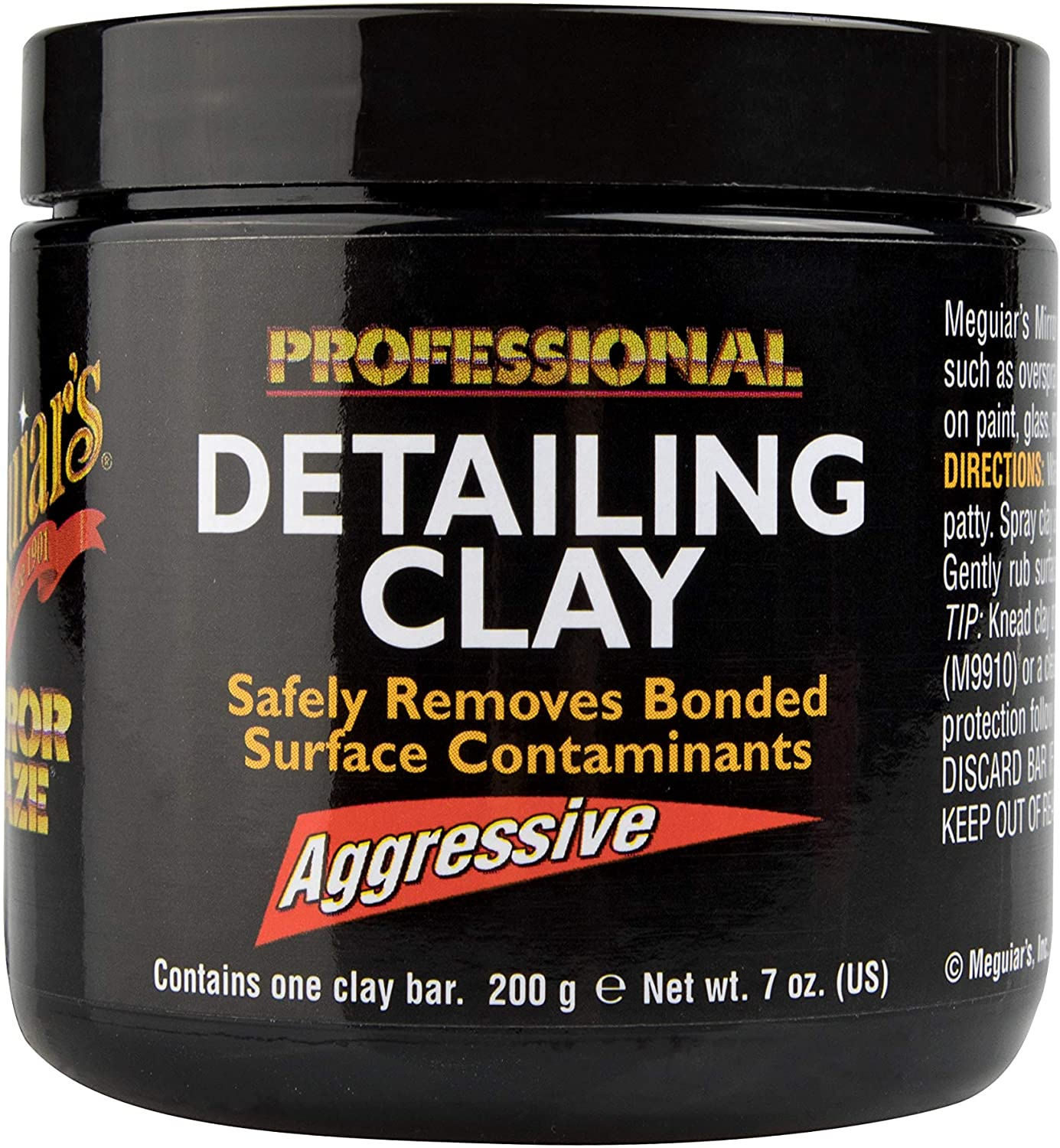Meguiar's Mirror Glaze Detailing Surprise price – Clay Aggressive All items in the store Re