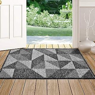 """Indoor Doormat,Front Back Door Mat Rubber Backing Non Slip Door Mats 20""""x31.5"""" Absorbent Resist Dirt Entrance Doormat Insi..."""