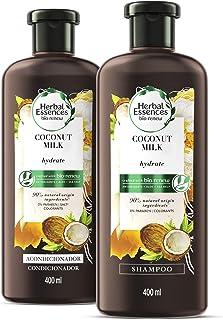 Herbal Essences Bíorenew Shampoo + Acondicionador Hydrate Coconut Milk 400ml c/u