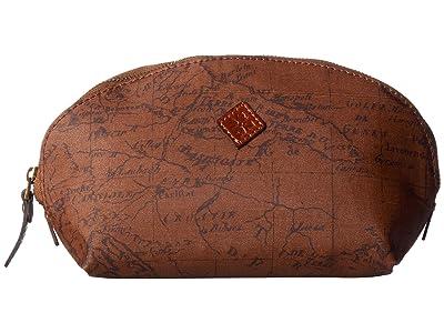 Patricia Nash Capriana Dome Cosmetic Case (Signature Map) Handbags