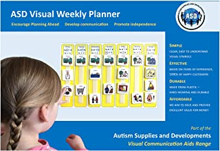 Plastic Visual Weekly Planner (English)