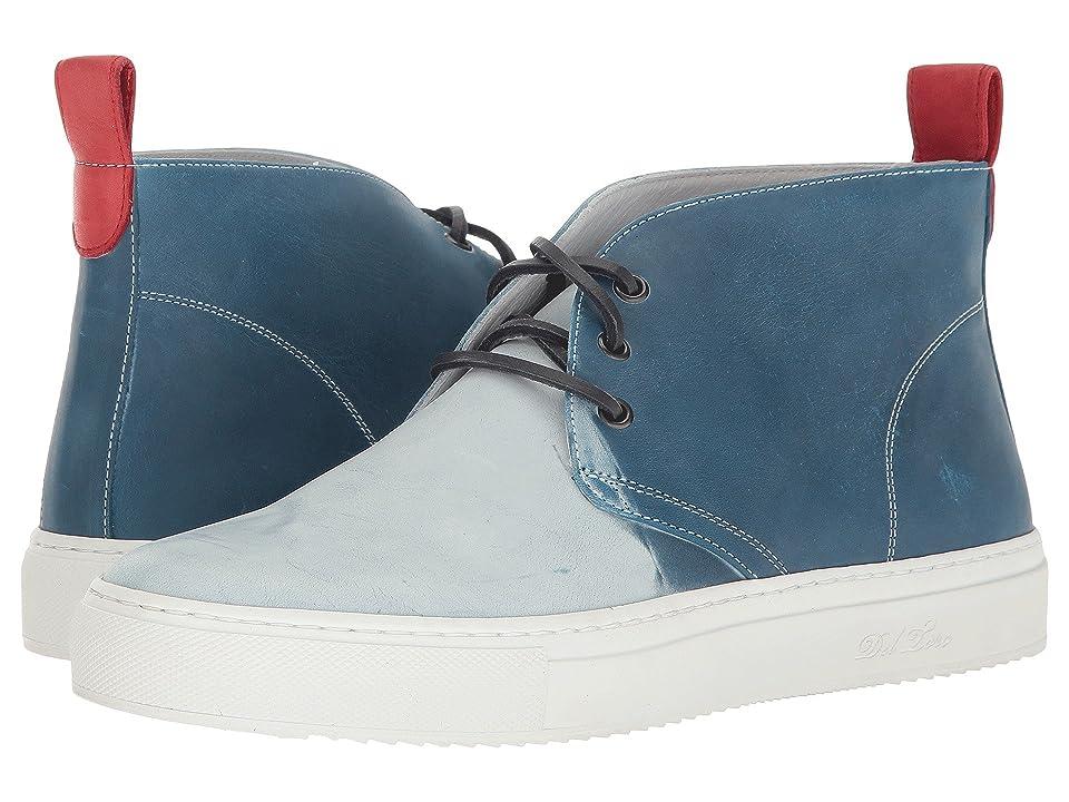 Del Toro High Top Ombre Chukka Sneaker (Blue) Men